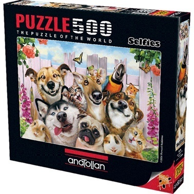 Anatolian  Puzzle 500 Parça Dostlarla Selfie 3584 Renkli